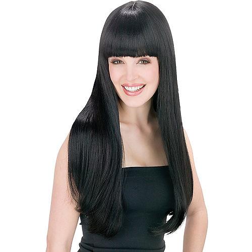 Got You Babe Black Wig Image #1
