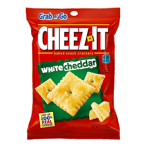 Grab n' Go Cheez-It Baked Snack Crackers, 3oz - White Cheddar Image #1