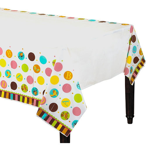 Fisher-Price ABC Baby Shower Table Cover Image #1