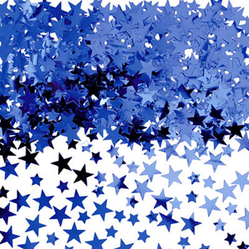 Royal Blue Star Confetti Image #1