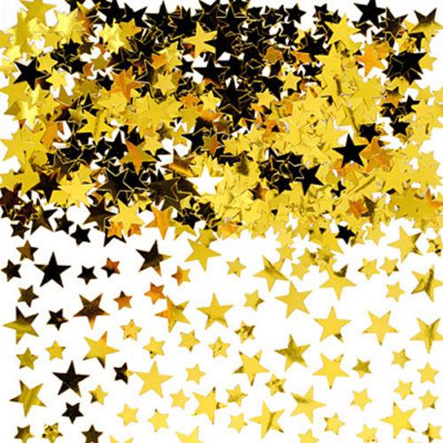 Gold Star Confetti Image #1