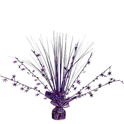Purple Spray Centerpiece Image #1