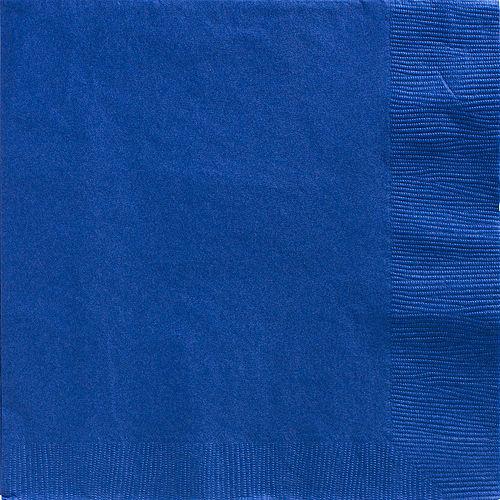 Royal Blue Paper Dinner Napkins, 7.6in, 40ct Image #1