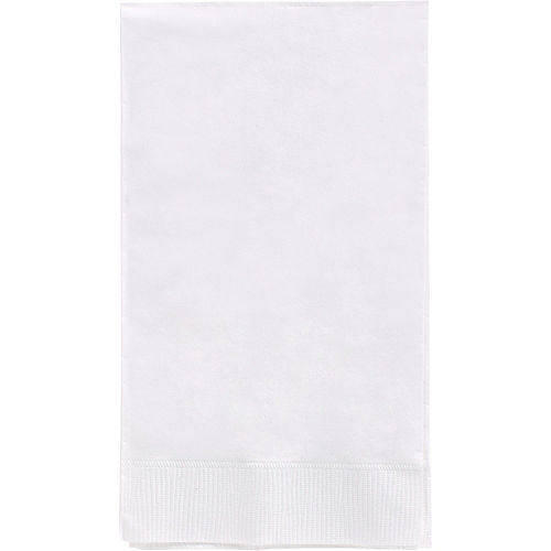 Big Party Pack White Guest Towels 40ct Image #1