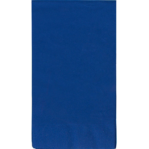 Big Party Pack Royal Blue Guest Towels 40ct Image #1