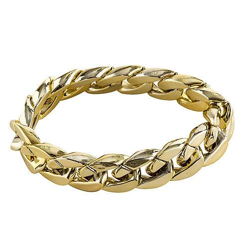 Hip Hop Big Links Gold Bracelet Image #1