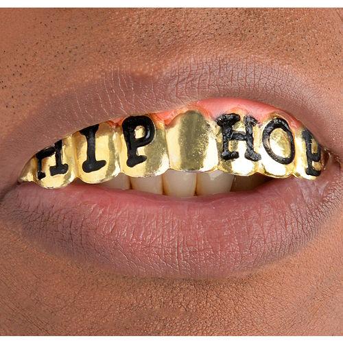 Grillz Hip Hop Gold Teeth Image #1