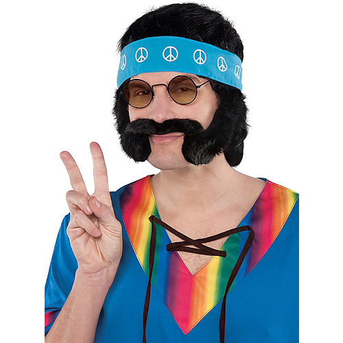 Hippie Man Accessory Kit Image #1