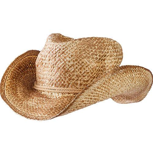 Straw Cowboy Hat Image #1