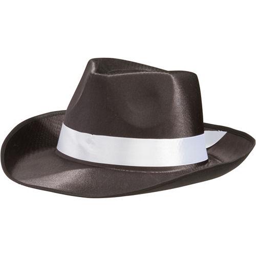 Satin Band Gangster Hat Image #1