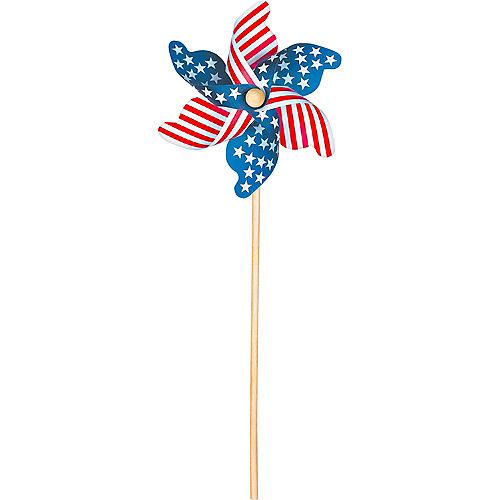 Patriotic American Flag Pinwheel Image #1