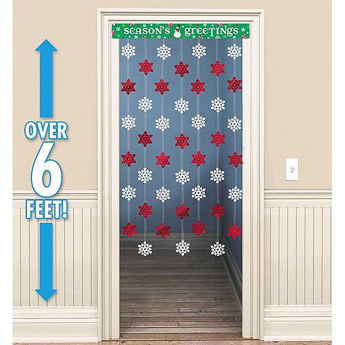 Season's Greetings Doorway Curtain Image #1