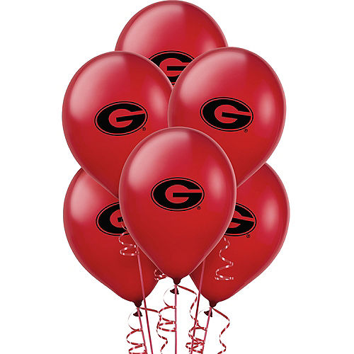 Georgia Bulldogs Balloons 10ct Image #1