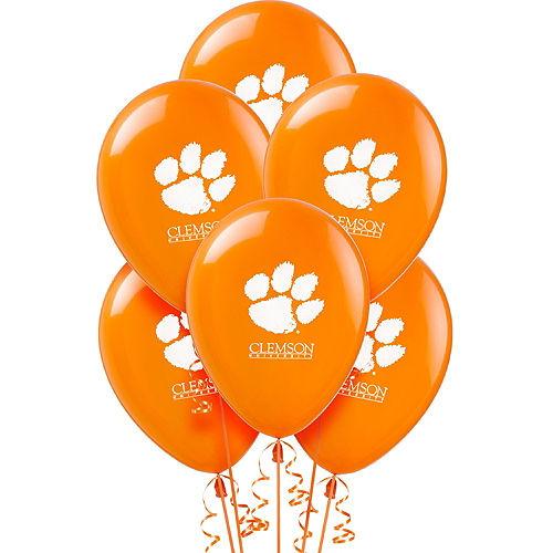 Clemson Tigers Balloons 10ct Image #1