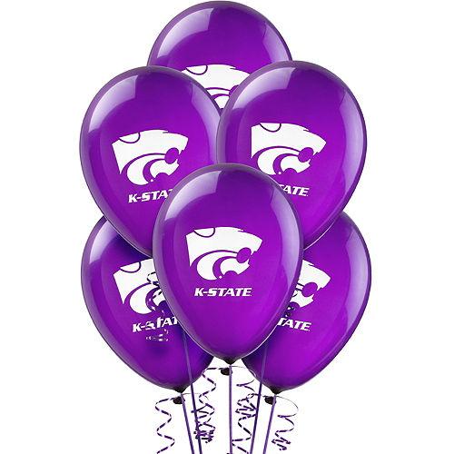 Kansas State Wildcats Balloons 10ct Image #1