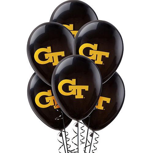 Georgia Tech Yellow Jackets Balloons 10ct Image #1