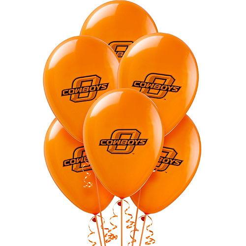 Oklahoma State Cowboys Balloons 10ct Image #1
