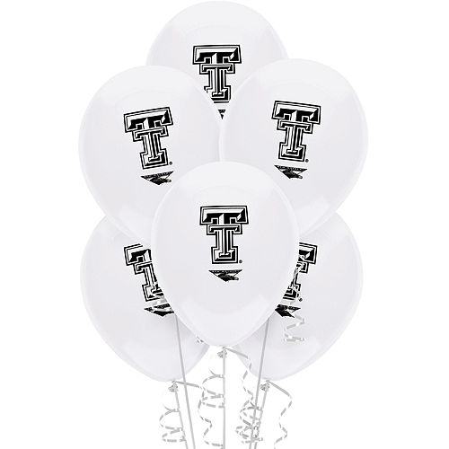 Texas Tech Red Raiders Balloons 10ct Image #1
