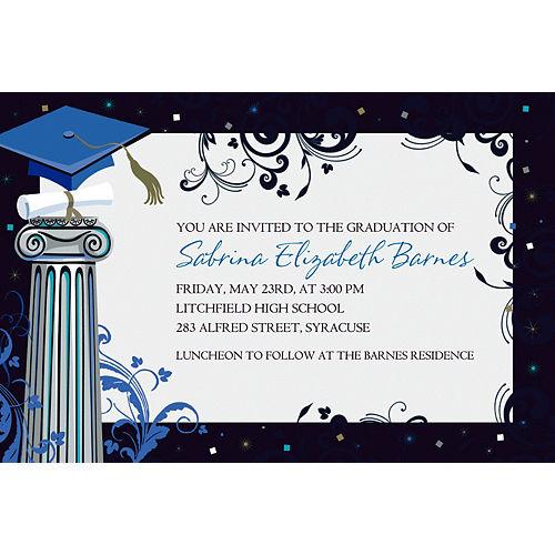 Custom Dean's List Graduation Invitations  Image #1