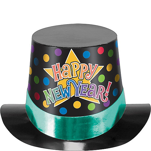 Colorful New Year's Top Hat Image #1