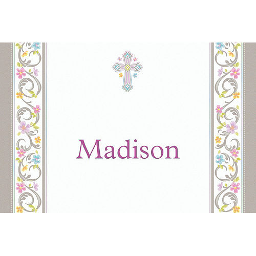 Custom Blessed Day Thank You Notes Image #1