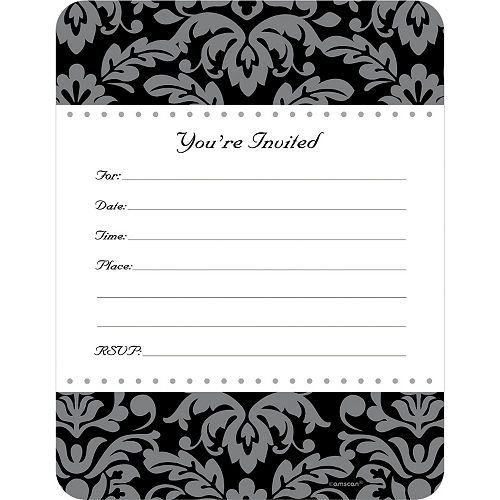 Special Day Invitations 50ct Image #1