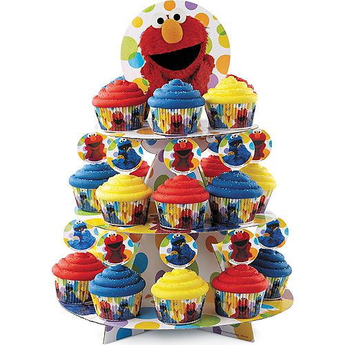 Wilton Sesame Street Cupcake Stand Image #1