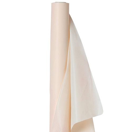 Vanilla Cream Plastic Table Cover Roll Image #1