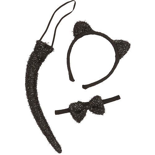 Child Glitter Cat Accessory Kit Image #2