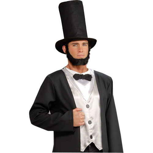 Black Stovepipe Hat Image #2
