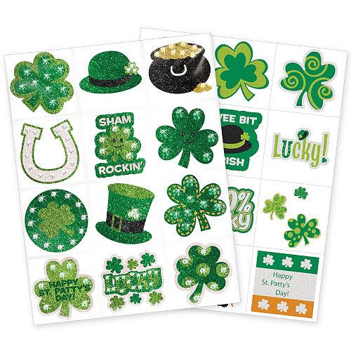 St. Patrick's Day Body Art Set 2 sheets Image #1