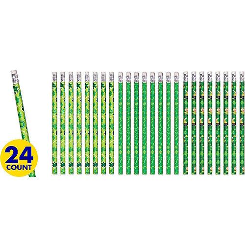 St. Patrick's Day Pencils 24ct Image #1