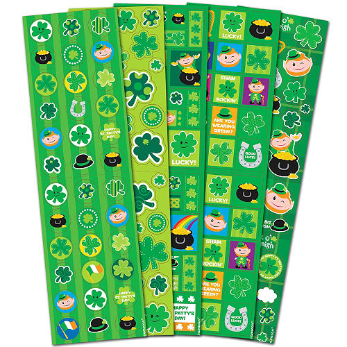 St. Patrick's Day Stickers 5 Sheets Image #1