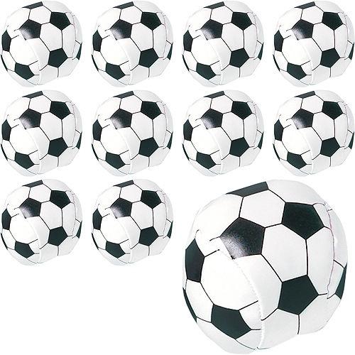 Soft Soccer Balls 24ct Image #1
