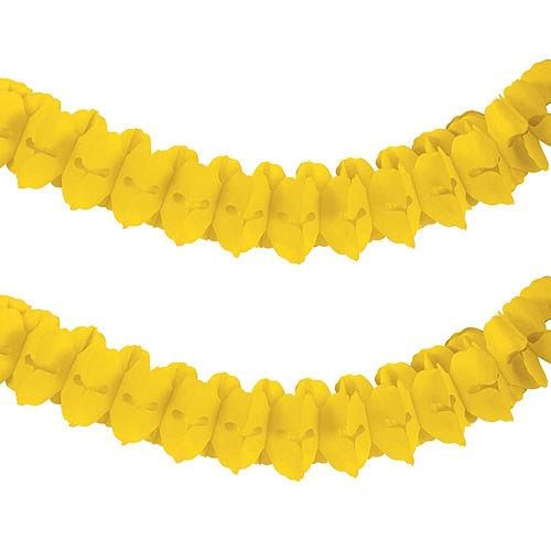 Sunshine Yellow Paper Garland Image #1