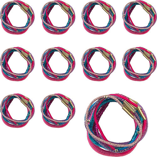 Assorted Color Hair Bands, 1.5in, 384ct Image #1