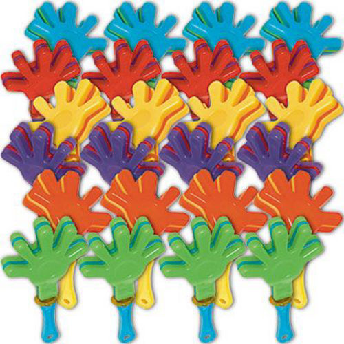 Mini Hand Clappers 48ct Image #2