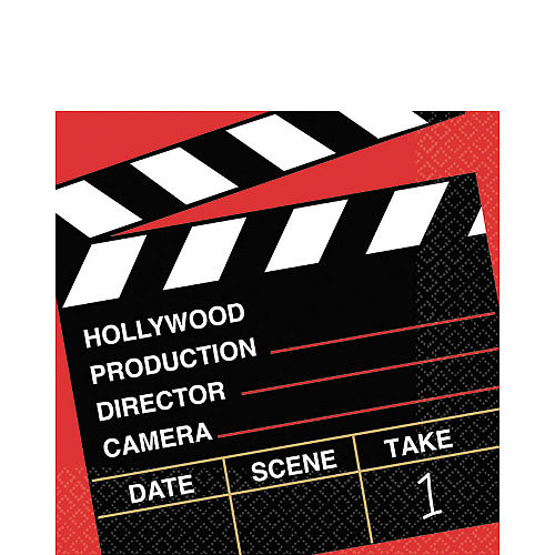Clapboard Hollywood Lunch Napkins 36ct Image #1