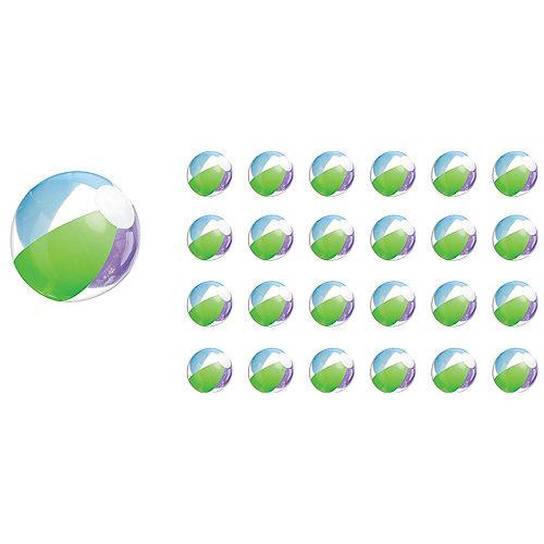Multi Color Beach Balls 24ct Image #1
