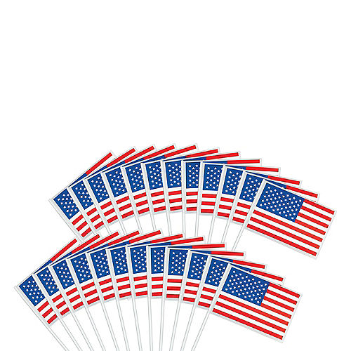 American Flags 48ct Image #1
