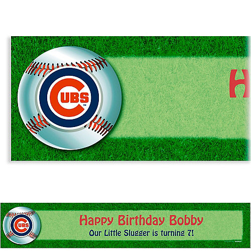Custom Chicago Cubs Banner 6ft Image #1