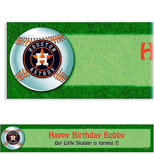 Custom Houston Astros Banner 6ft Image #1
