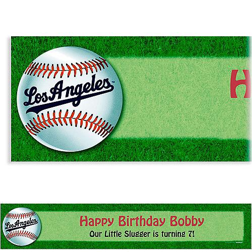 Custom Los Angeles Dodgers Banner 6ft Image #1