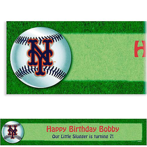 Custom New York Mets Banner 6ft Image #1