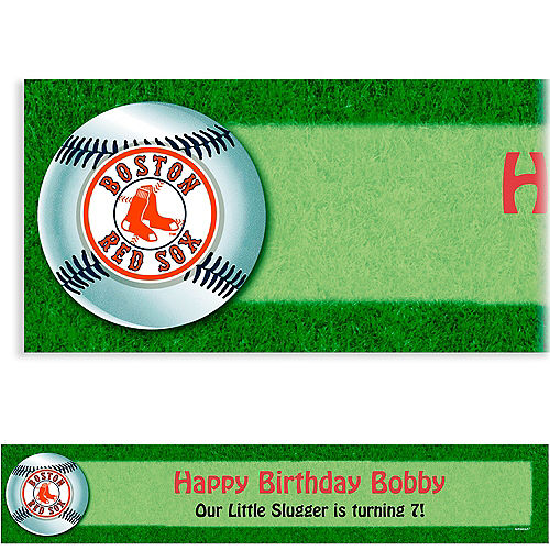 Custom Boston Red Sox Banner 6ft Image #1