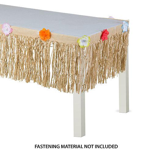 Natural Grass Table Skirt Image #1
