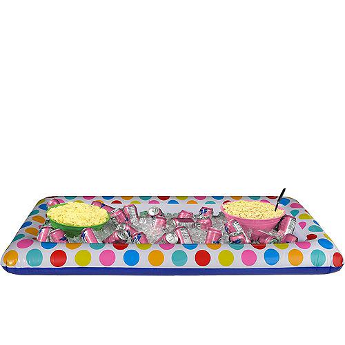 Polka Dot Inflatable Buffet Cooler Image #1