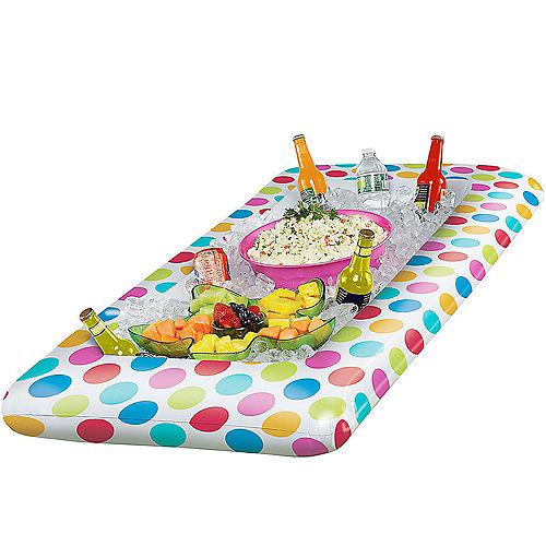 Polka Dot Inflatable Buffet Cooler Image #2