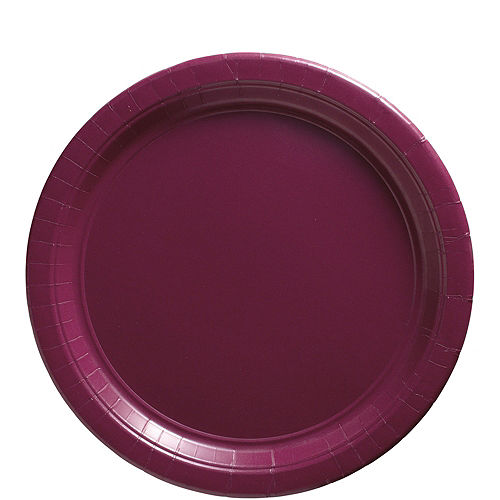 Berry Paper Lunch Plates, 9in, 50ct Image #1