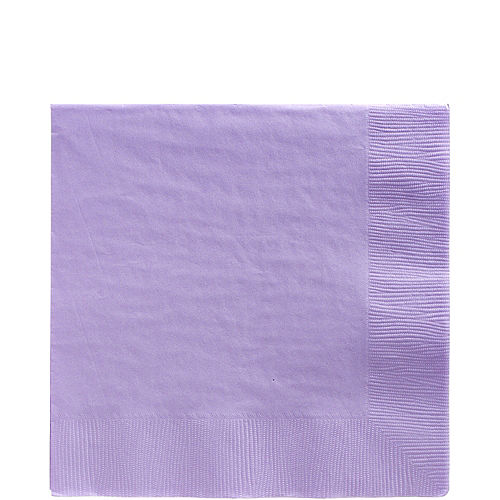 Big Party Pack Lavender Lunch Napkins 125ct Image #1
